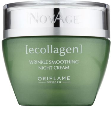 Oriflame Novage Ecollagen crema de noche antiarrugas