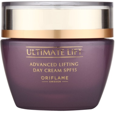 Oriflame Novage Ultimate Lift crema de zi cu efect lifting  SPF 15