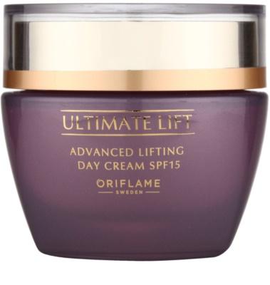Oriflame Novage Ultimate Lift dnevna lifting krema za učvrstitev kože SPF 15
