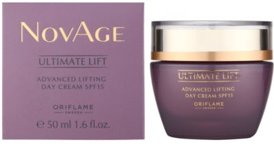 Oriflame Novage Ultimate Lift nappali liftinges kisimító krém SPF 15 1