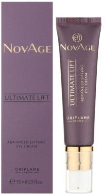 Oriflame Novage Ultimate Lift creme de olhos com efeito lifting 1
