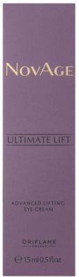 Oriflame Novage Ultimate Lift creme de olhos com efeito lifting 2