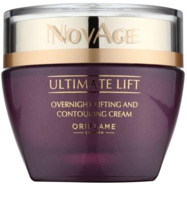 Oriflame Novage Ultimate Lift crema de noche antiarrugas con efecto lifting