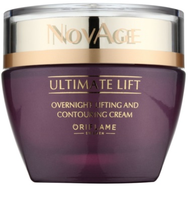 Oriflame Novage Ultimate Lift creme de noite lifting antirrugas