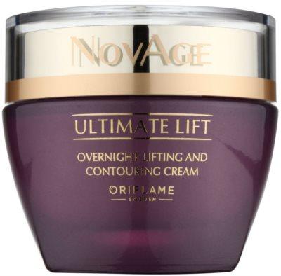 Oriflame Novage Ultimate Lift noční liftingový krém proti vráskám