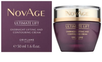 Oriflame Novage Ultimate Lift creme de noite lifting antirrugas 1
