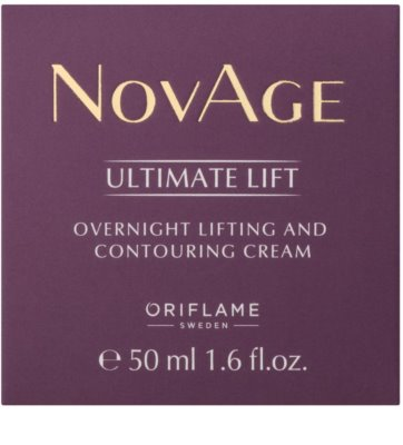 Oriflame Novage Ultimate Lift creme de noite lifting antirrugas 2