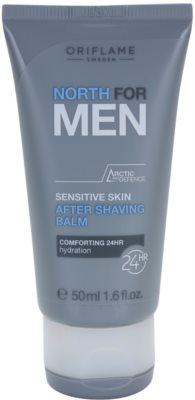 Oriflame North For Men balsam aftershave pentru piele sensibila