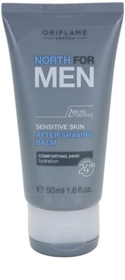 Oriflame North For Men bálsamo after shave para pieles sensibles