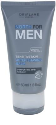 Oriflame North For Men borotválkozás utáni balzsam az érzékeny arcbőrre