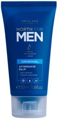 Oriflame North For Men bálsamo aftershave com zinco