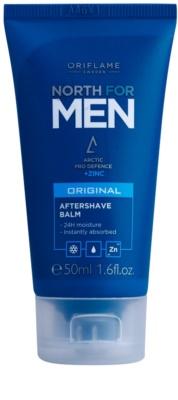 Oriflame North For Men бальзам після гоління з вмістом цинку