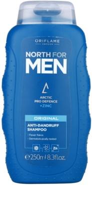 Oriflame North For Men korpásodás elleni sampon