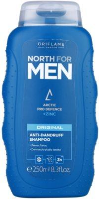 Oriflame North For Men šampon proti lupům