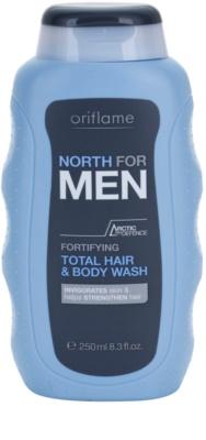 Oriflame North For Men душ гел и шампоан 2 в 1