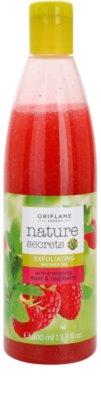 Oriflame Nature Secrets tusfürdő gél peeling hatással