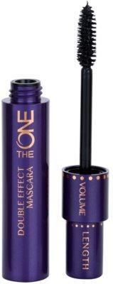 Oriflame The One Double Effect Mascara für längere und dichtere Wimpern