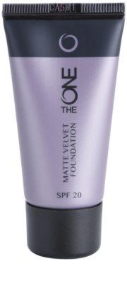 Oriflame The One Matte Velvet machiaj cu efect matifiant SPF 20