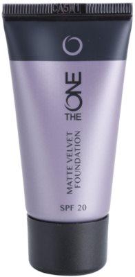 Oriflame The One Matte Velvet maquillaje matificante SPF 20