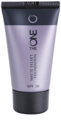 Oriflame The One Matte Velvet mattierendes Make-up SPF 20