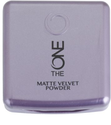 Oriflame The One Matte Velvet pudra matuire 2