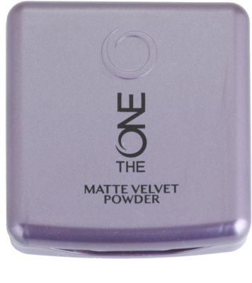 Oriflame The One Matte Velvet pó matificante 2
