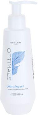 Oriflame Optimals gel de curatare pentru piele normala si mixta