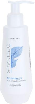 Oriflame Optimals gel de limpeza para pele normal a mista