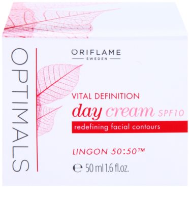 Oriflame Optimals Vital Definition crema pentru fermitate SPF 10 3