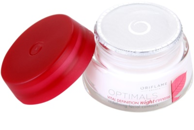 Oriflame Optimals Vital Definition crema de noche reafirmante 1