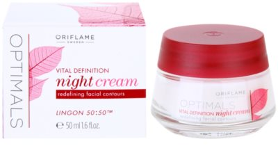 Oriflame Optimals Vital Definition crema de noapte pentru fermitate 2