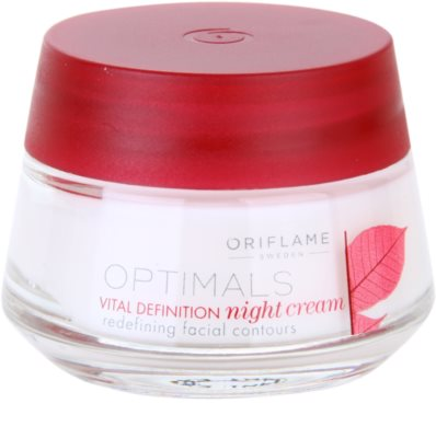 Oriflame Optimals Vital Definition crema de noche reafirmante
