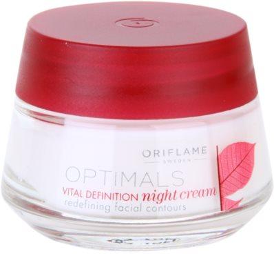 Oriflame Optimals Vital Definition feszesítő éjszakai krém