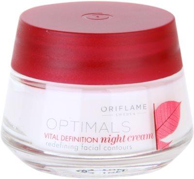 Oriflame Optimals Vital Definition ujędrniający krem na noc