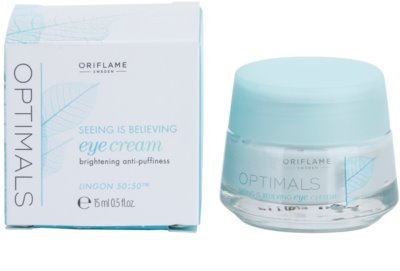 Oriflame Optimals Seeing Is Believing krema za osvetljevanje predela okoli oči proti temnim kolobarjem 1