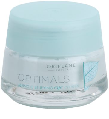 Oriflame Optimals Seeing Is Believing krema za osvetljevanje predela okoli oči proti temnim kolobarjem