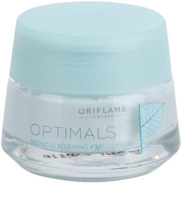 Oriflame Optimals Seeing Is Believing rozjaśniający krem do okolic oczu przeciw cieniom