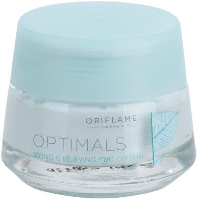 Oriflame Optimals Seeing Is Believing rozjasňující oční krém proti tmavým kruhům