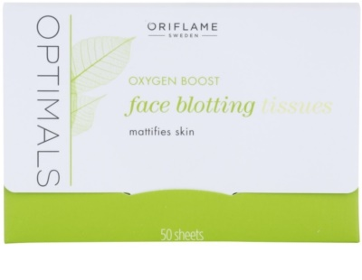 Oriflame Optimals Oxygen Boost bibułki matujące