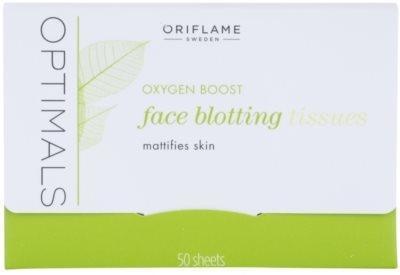 Oriflame Optimals Oxygen Boost листчета за матиране