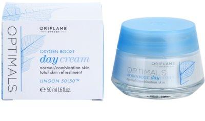 Oriflame Optimals Oxygen Boost crema de zi cu efect revigorant pentru piele normala si mixta 1