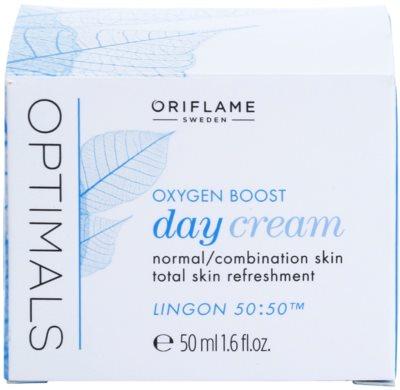 Oriflame Optimals Oxygen Boost crema de zi cu efect revigorant pentru piele normala si mixta 2