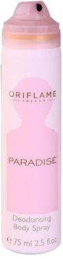 Oriflame Paradise deodorant Spray para mulheres