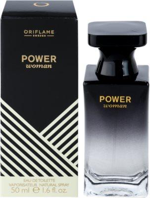 Oriflame Power Woman eau de toilette nőknek