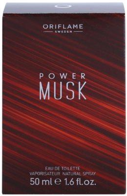 Oriflame Power Musk eau de toilette para hombre 4