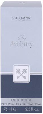Oriflame Sir Avebury Eau de Toilette para homens 4