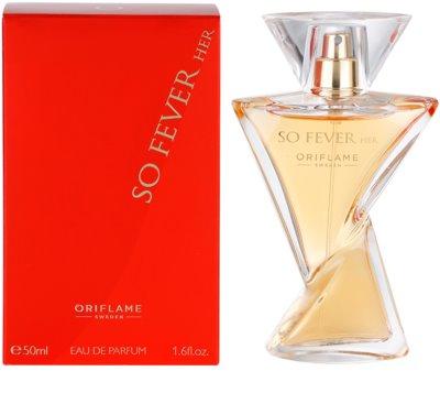 Oriflame So Fever Her парфумована вода для жінок