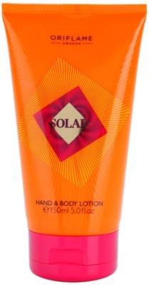 Oriflame Solar leche corporal para mujer