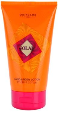 Oriflame Solar leite corporal para mulheres