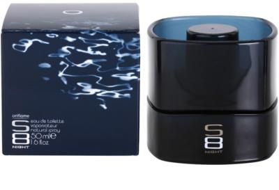 Oriflame S8 Night eau de toilette férfiaknak